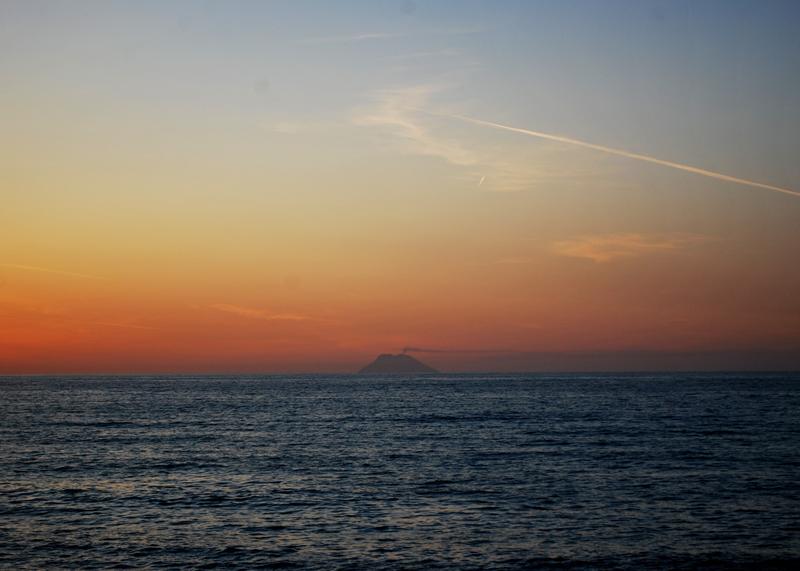 Tramonto sul Golfo di Gioia Tauro
