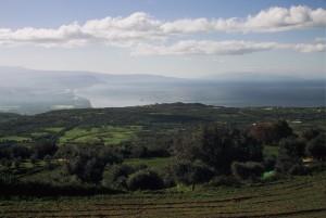 A chiana, veduta dal Monte Poro